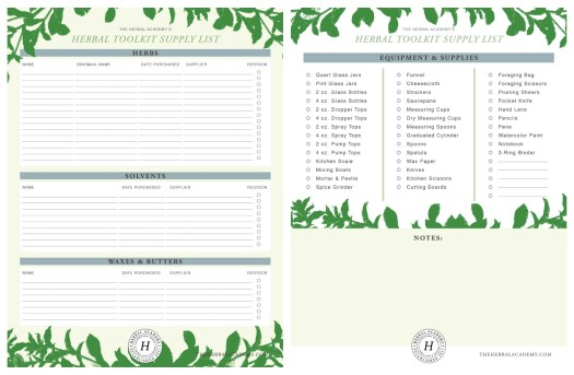 14 Must-Have Supplies For Herbalists (Plus A Free Printable Supply List)   Herbal Academy   Are you setting up your home apothecary but wonder which supplies are necessary? Here's a printable list of 14 supplies that are most helpful to herbalists.