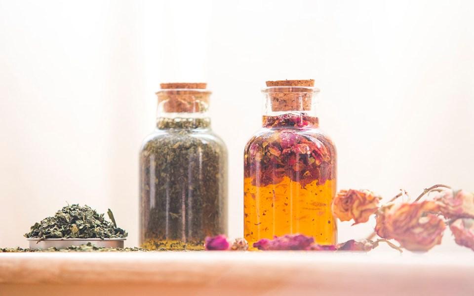 Herbal honeys are used in herbal cocktails