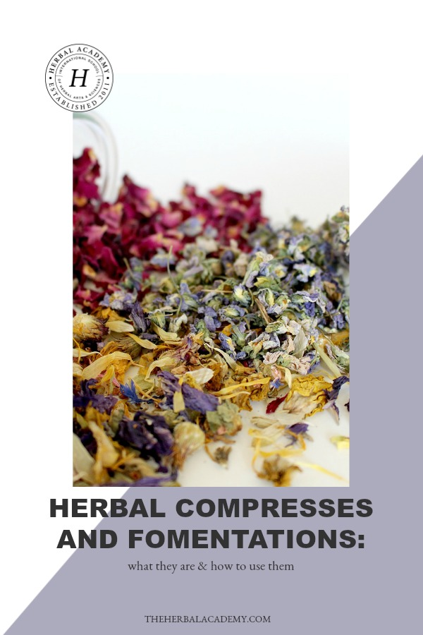 Herbal Compresses and Fomentations: What They Are & How To Use Them | Herbal Academy | Herbal compresses and fomentations are easily overlooked, however they have great potential for helping to ease discomfort. Here's how to make and use them!