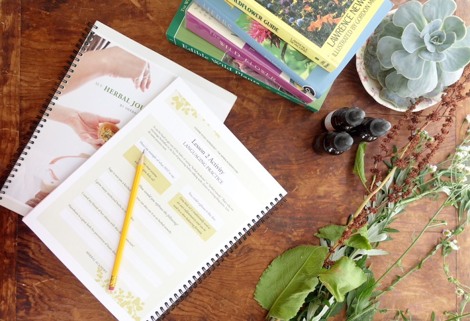 Beautiful Herbal Journey Planner by Herbal Academy
