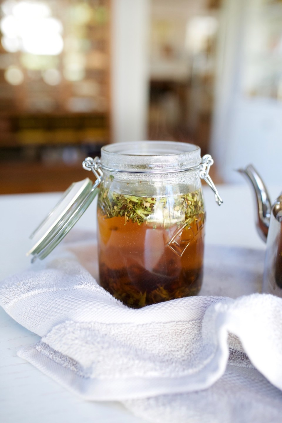 Herbal Tea or Herbal Infusion: What's the Difference? | Herbal Academy | When should you use an herbal tea or herbal infusion? What's the difference? While the two are mostly similar, there are a couple of differences to note.