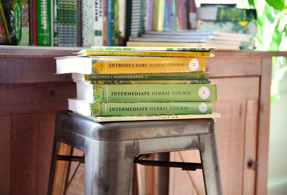 Introducing The Most Complete Herbalism Textbooks in Beginner and Intermediate Levels | Herbal Academy | Two of our foundational online herbal courses are now available in print textbooks! Learn more in this post!