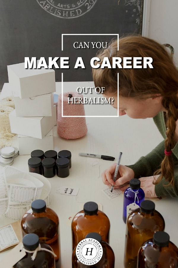 Can You Make A Career Out Of Herbalism? | Herbal Academy | If you're curious to know if an herbal career is right for you, we'll look at some various ways one can work as an Entrepreneur Herbalist in this course.