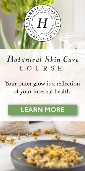 $50 off the Botanical Skin Care Course for a limited time!