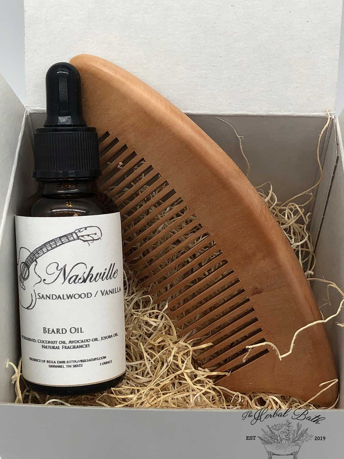 Beard Oil and Comb Gift set