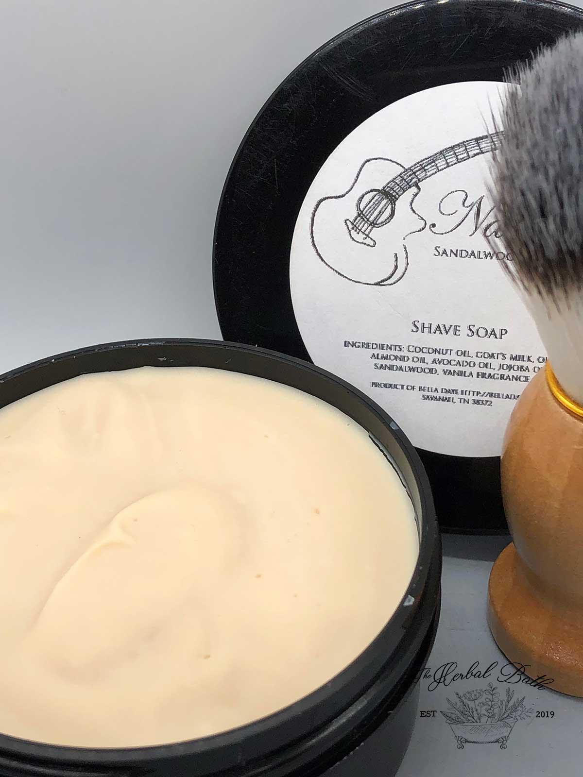 Natural Shave Soap