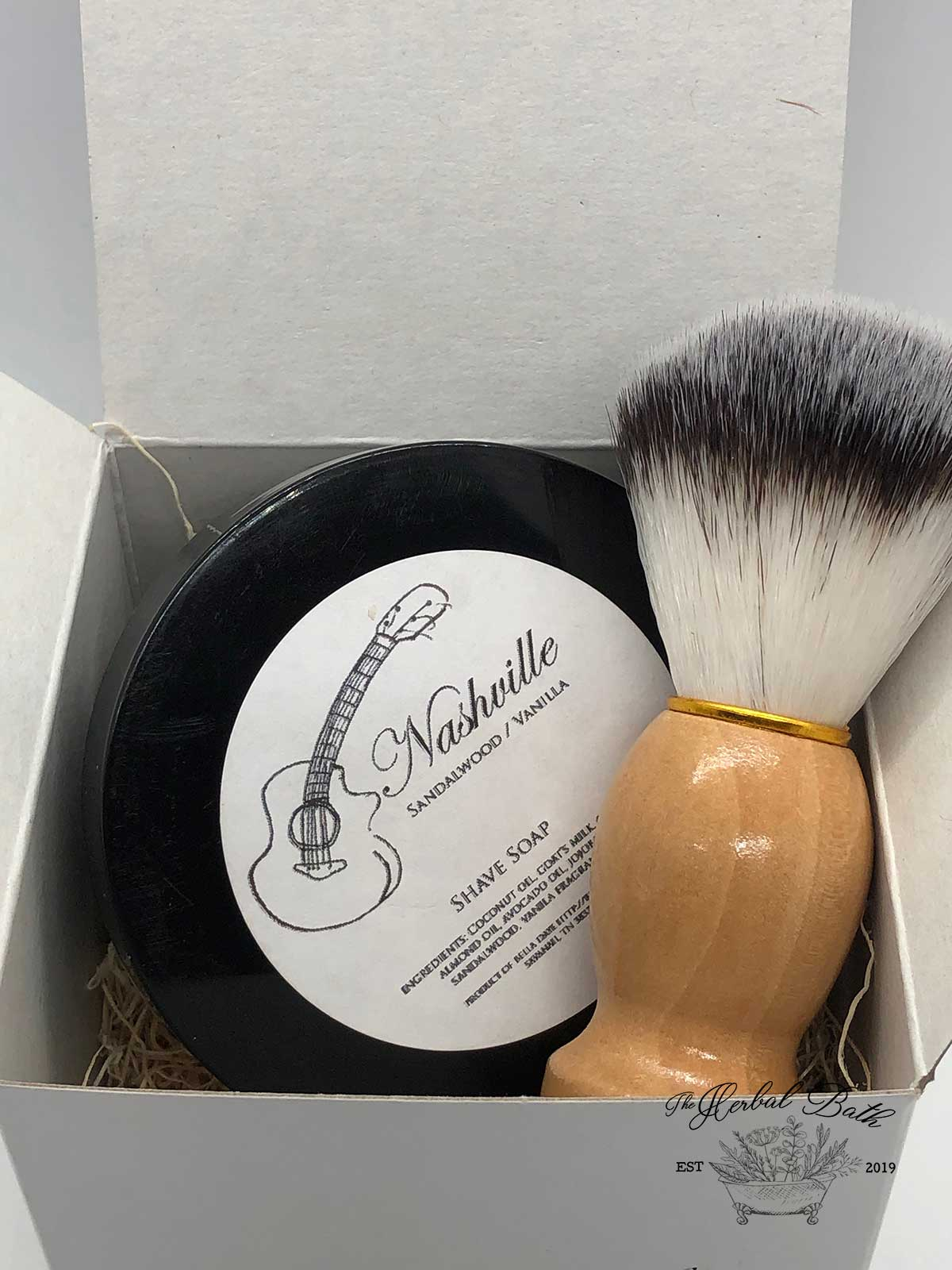 Shave Soap and Badger Brush set