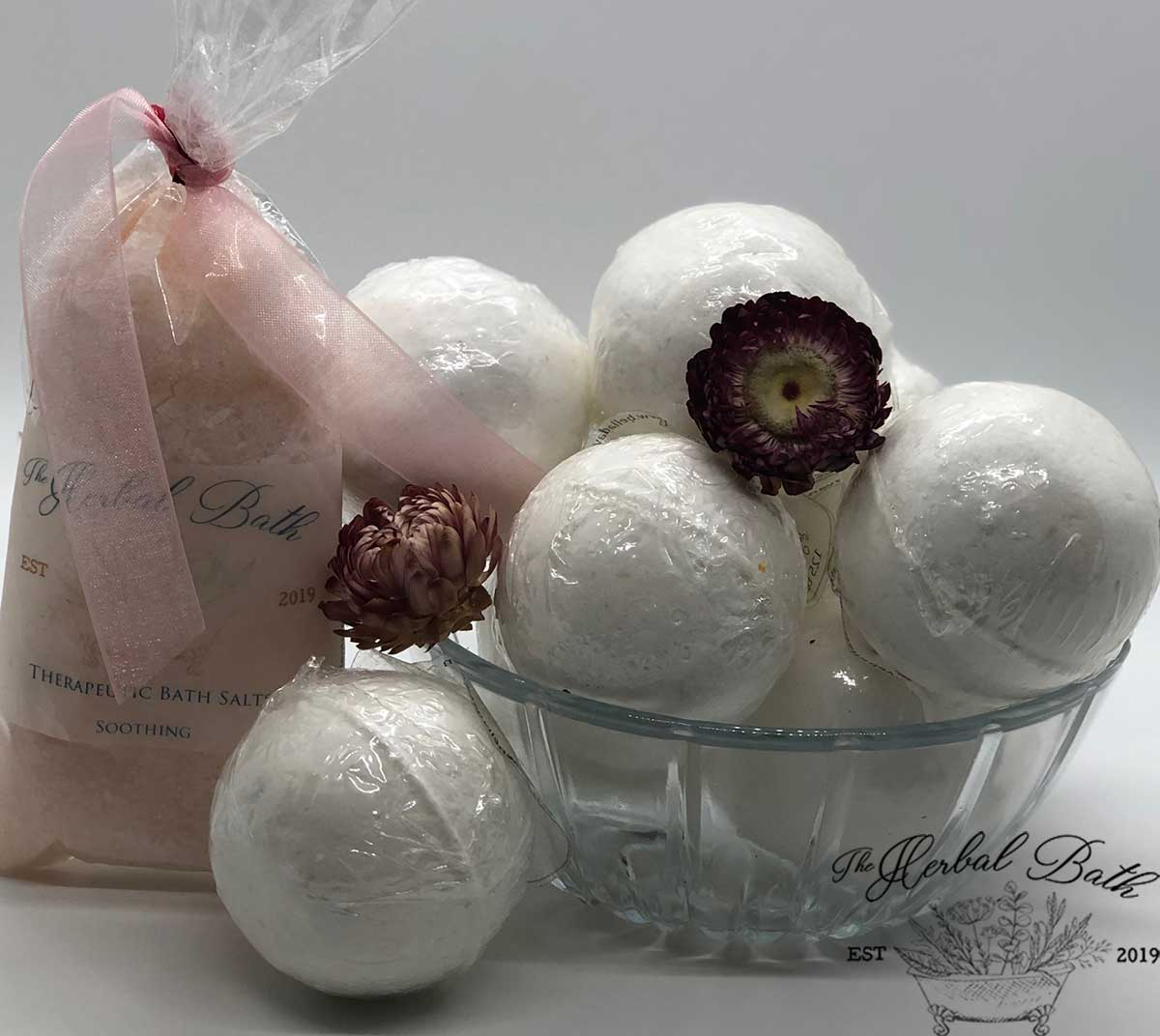 Bath Salts and bath Bombs