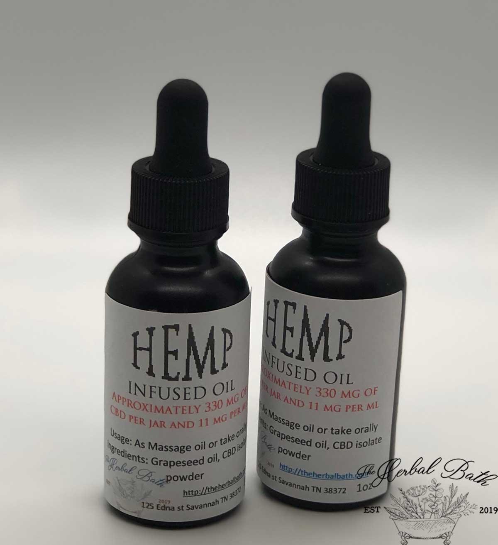 Hemp Oil infusions