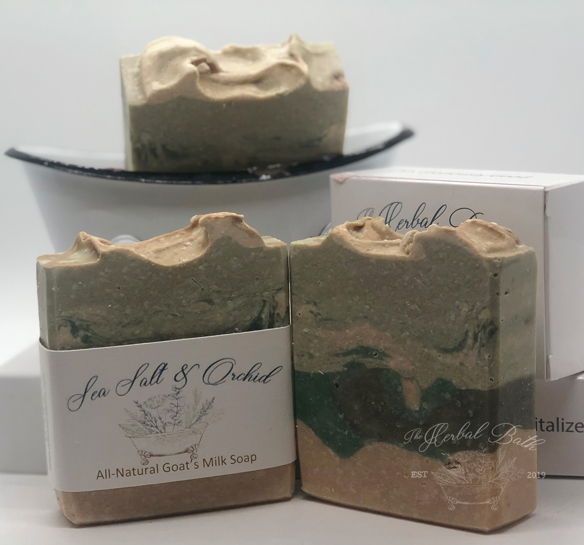 Sea Salt and Orchid Soap