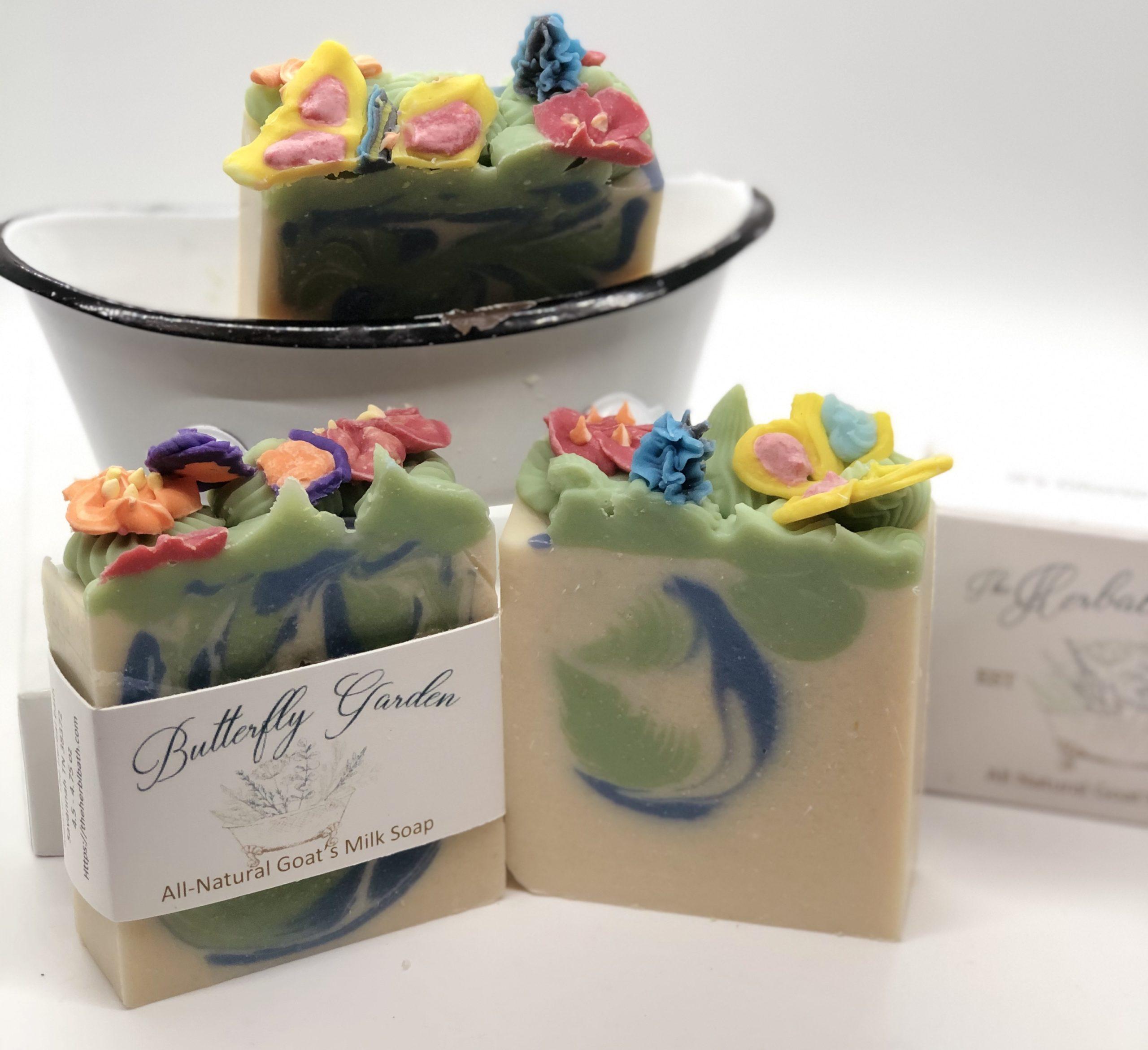 Butterfly Garden Soap