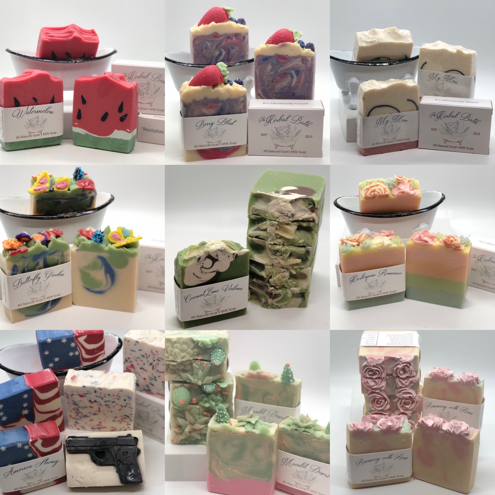 Summer Soap Collection