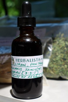 Visitors to the clinic receive custom formulated remedies.