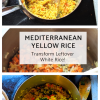 healthy vegan gluten free authentic yellow rice