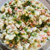 vegan herby potato salad healthy