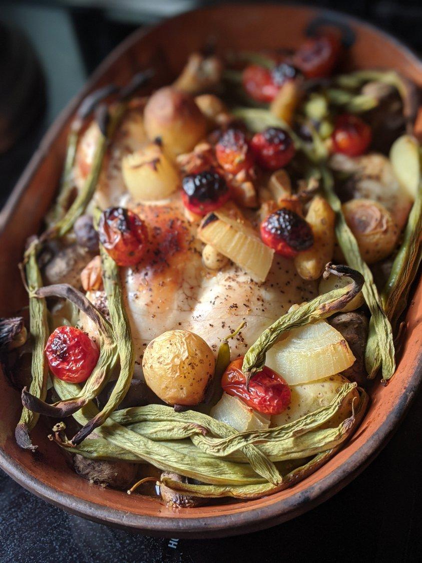 romertopf recipes clay pot chicken and vegetables romertopf chicken recipes