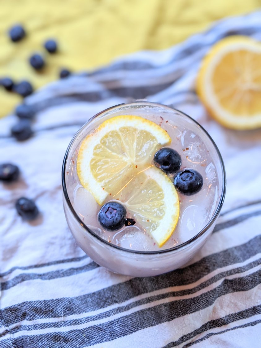 infuse gin with blueberries summer drinks with blueberry