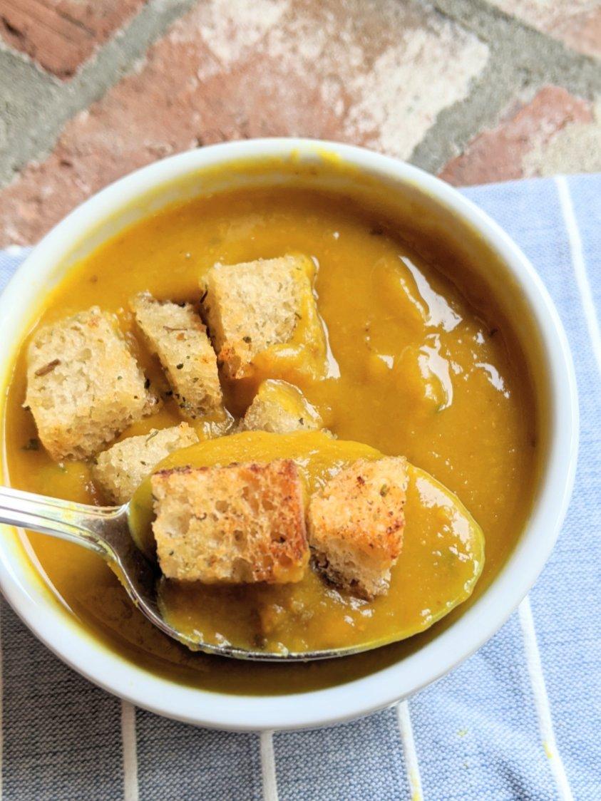 creamy turmeric soup recipe with vegetables vegan gluten free vegetarian veganuary detox turmeric soup recipes instant pot pressure cooker curcumin soup