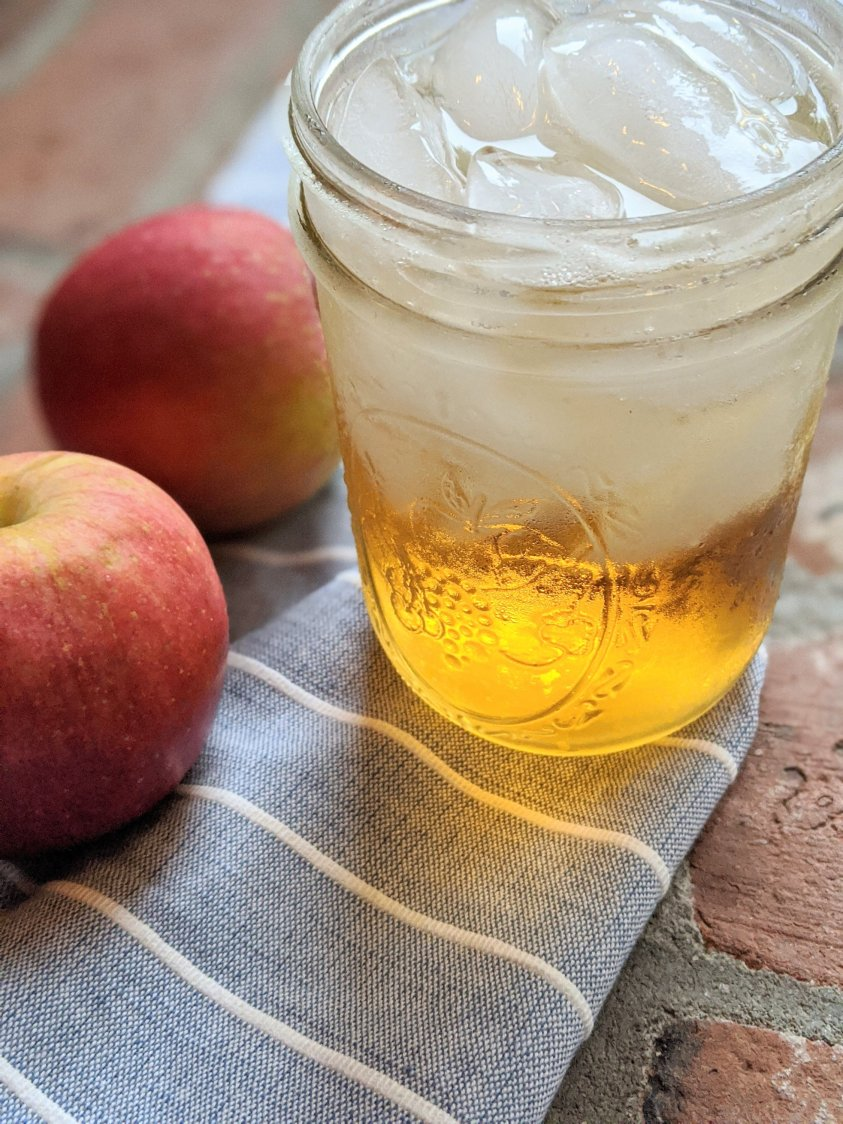 cocktail with apple moonshine cocktails apple cider fall autumn harvest moon cocktail