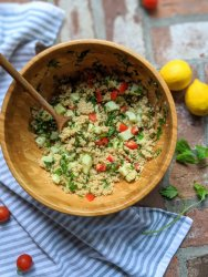 vegan high protein salad recipes gluten free vegetarian meatless summer side dishes for bbq parties or entertianing luau healthy salad side dishes everyone will love