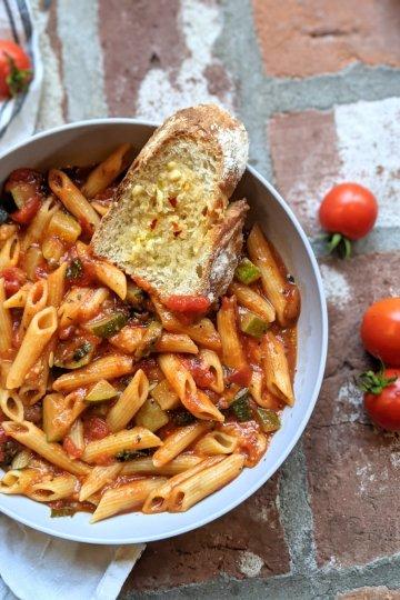 Instant Pot Penne Pasta Recipe Healthy Vegan Gluten Free