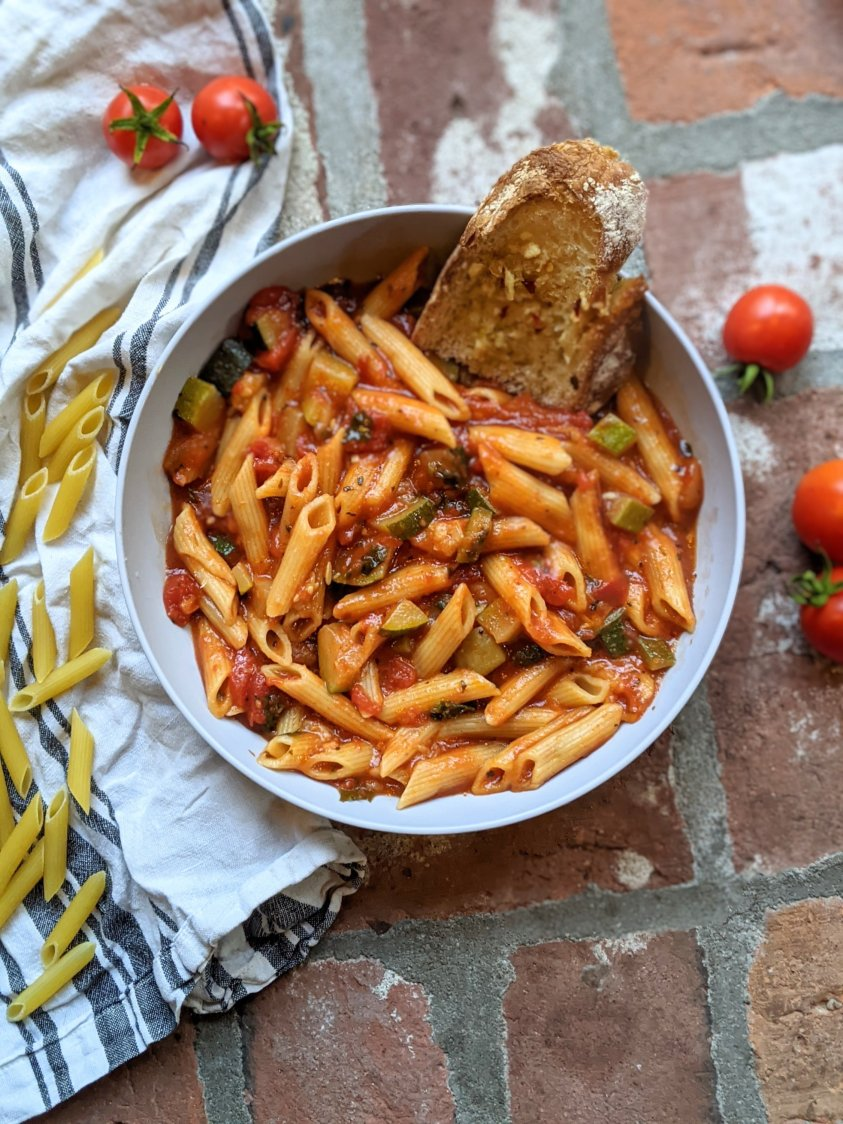 5 minute instant pot pasta recipe penne noodles in instant pot cooked in pressure cooker gluten free healthy homemade suace italian family dinner recipes for big families and kids hungry