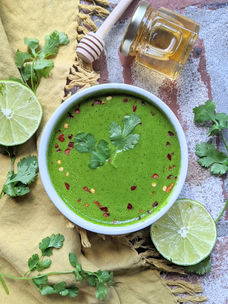 healthy recipes with raw honey and cilantro sauce for meats fish proteins tofu gluten free best paleo sauce recipes