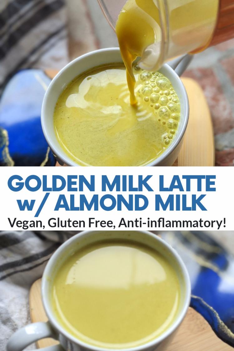 golden milk turmeric latte recipe vegan dairy free gluten free anti inflammatory healthy turmeric latte recipes
