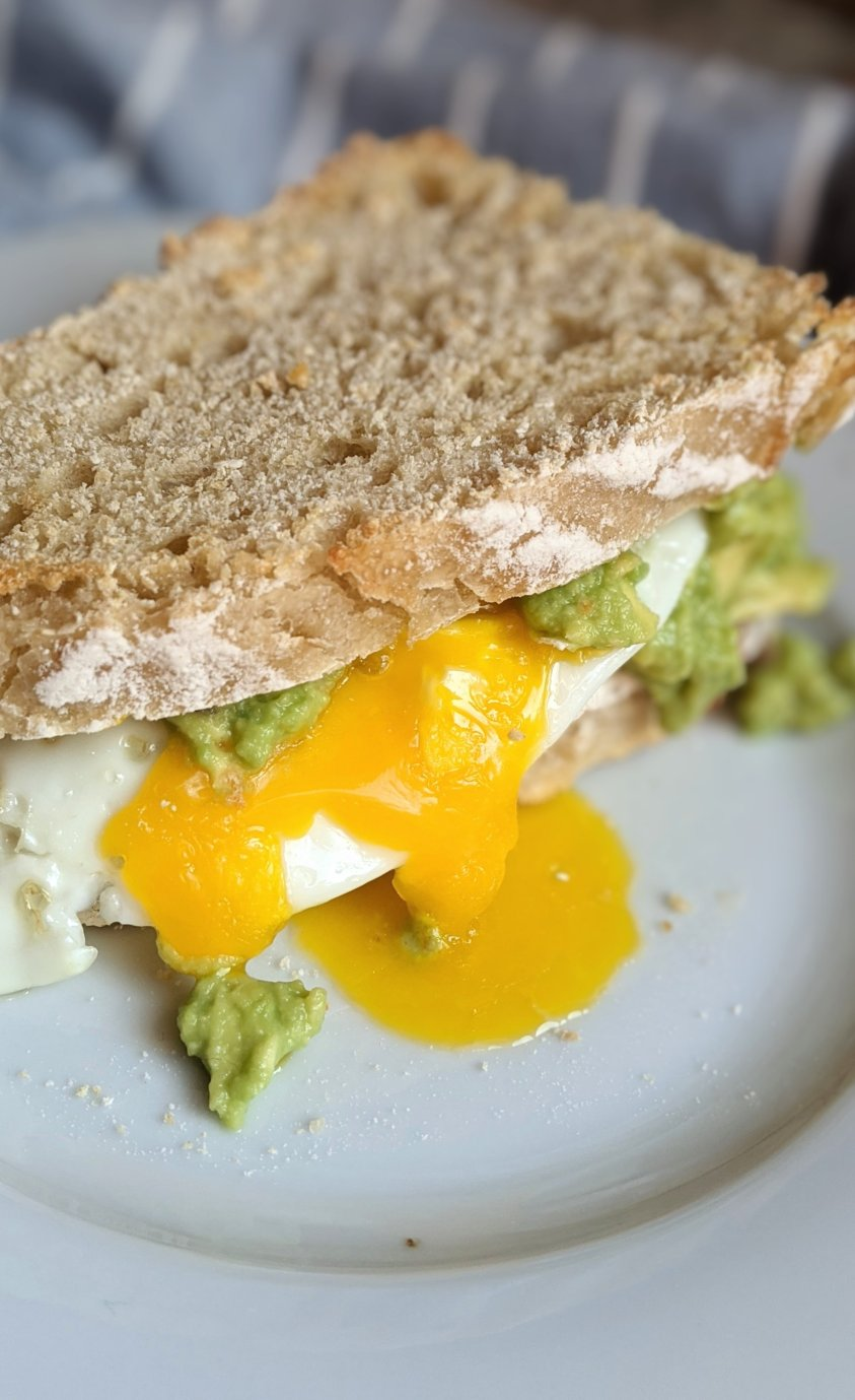 avocado and egg on toast recipe breakfast sandwich healthy gluten free vegetarian avocado recipes homemade easy cheap inexpensive vegetarian breakfasts