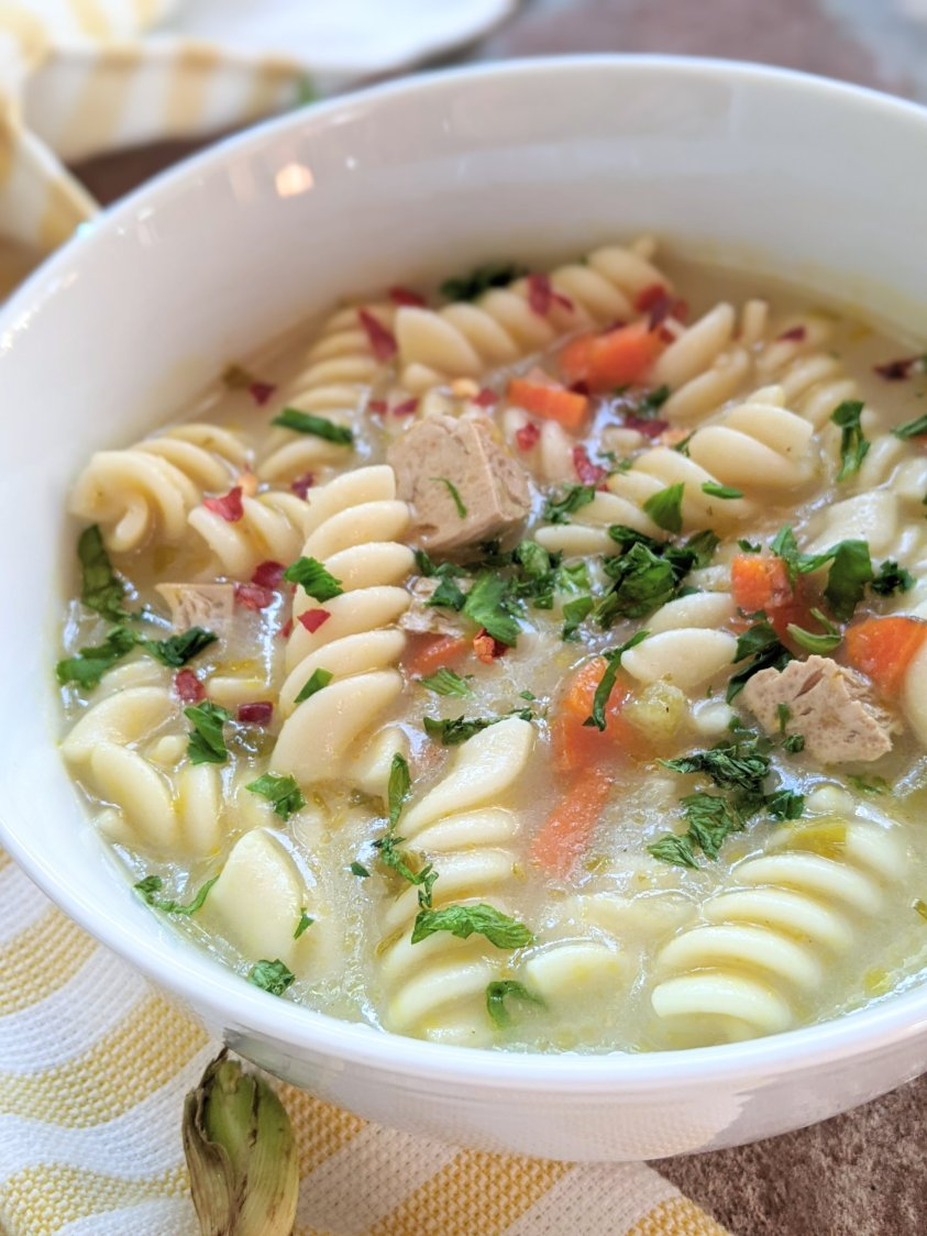 high protein vegan soup recipes creamy dairy free soups gluten free tofu noodles vegetables