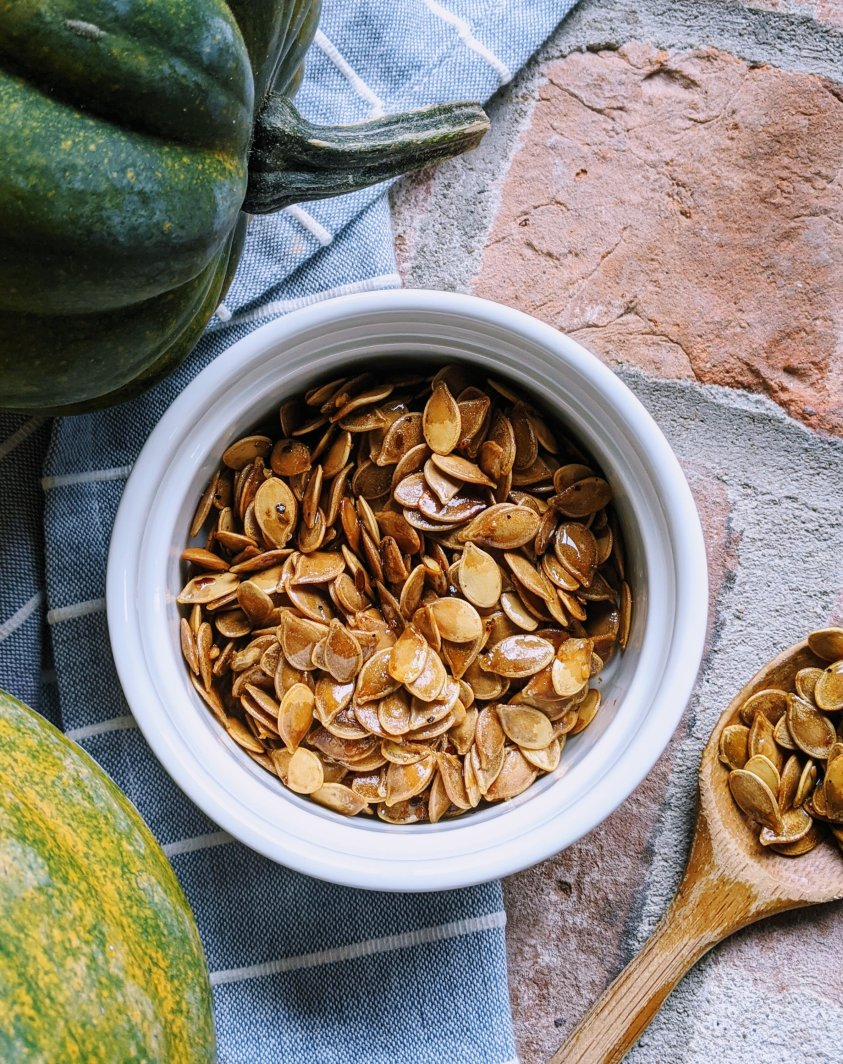 can i eat acorn squash seeds roast acorn squash seeds in oven with olive oil and spices
