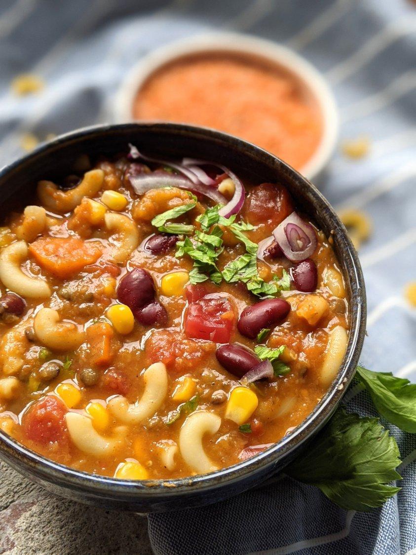 vegan pumpkin chili mac best savory pumpkin recipes