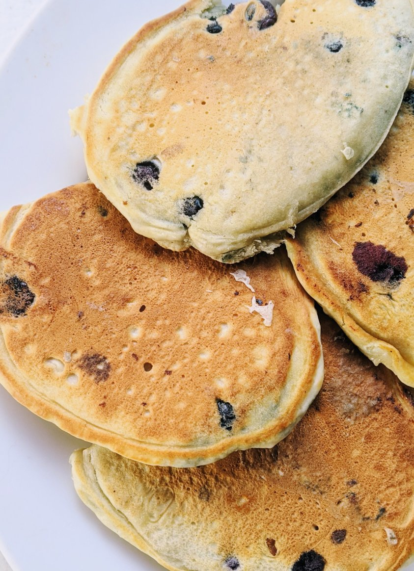 blueberry pancake stack recipe healthy food photography yummy brunch breakfast recipes kids will enjoy the whole family will love