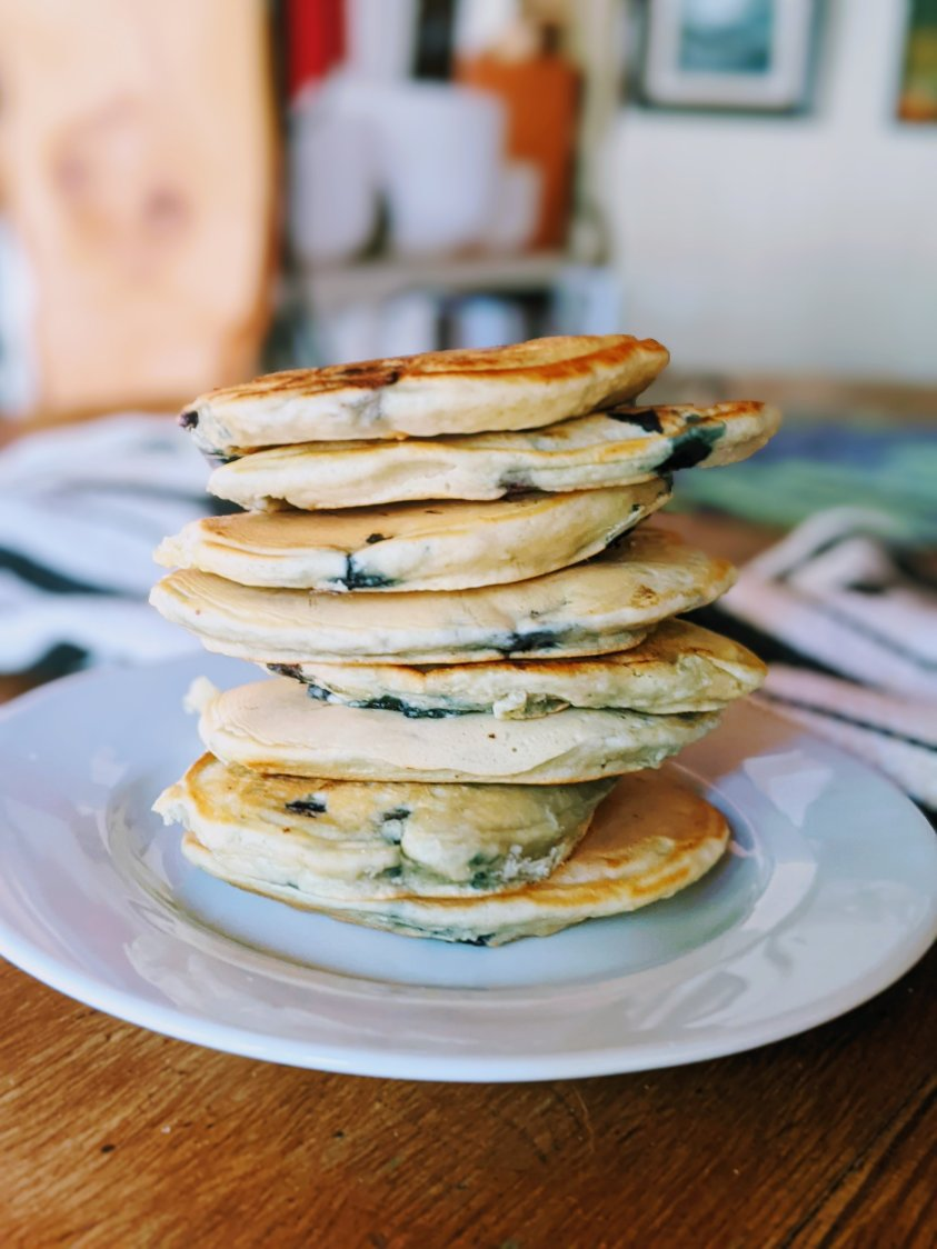 healthy pancakes with berries antioxidants homamade breakfasts for children fussy toddlers or kids