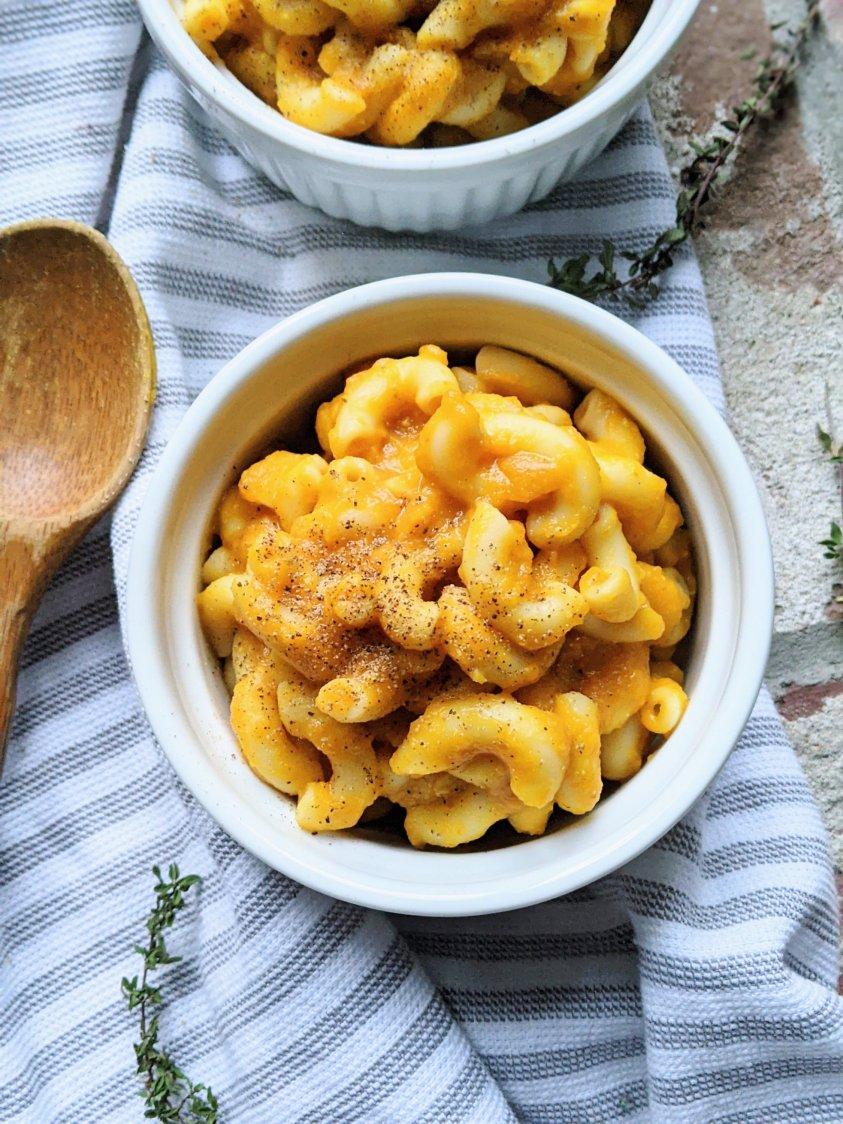 pumpkin macaroni and cheese recipe vegan dairy free healthy vegetarian holiday side dish recipes for vegans vegetarians gluten free sides