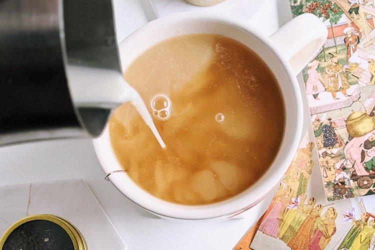 oat milk chai tea latte recipe healthy vegan gluten free latte with oat milk nut milk plant based steamed mylk or warmed milks