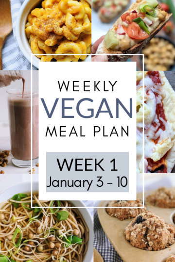 weekly vegan meal plan list of plant based recipes veganuary healthy meatless vegetarian meals for families busy moms kids eat more vegetables
