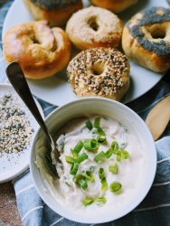 silken tofu vegan cream cheese recipe healthy high protein cream cheese dairy free healthy breakfast spread for bagels sandwiches wraps and dips