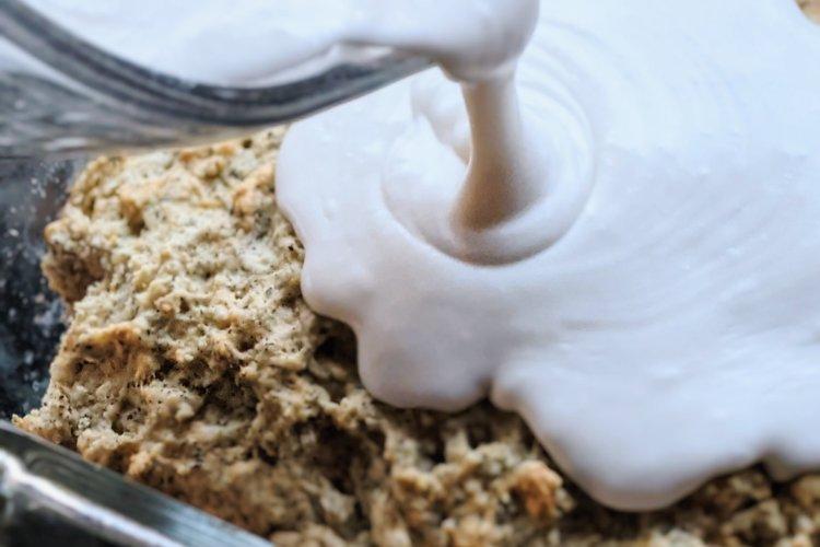 vegan coconut milk buttercream frosting icing butter cream dairy free gluten free healthy plant based dessert cake buttercream