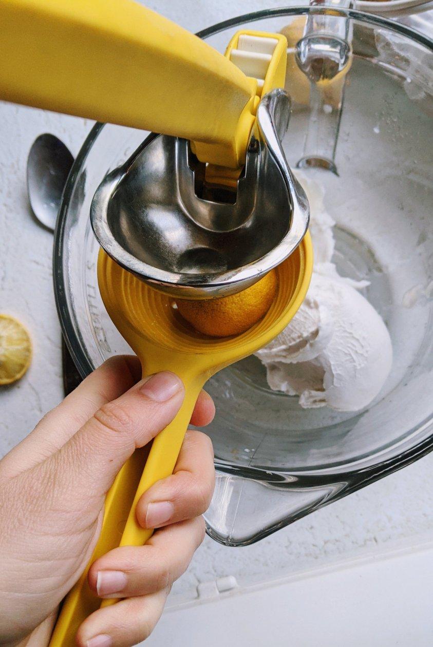 lemon coconut buttercream recipe healthy vegan gluten free dairy free fresh lemon juice and coconut milk canned