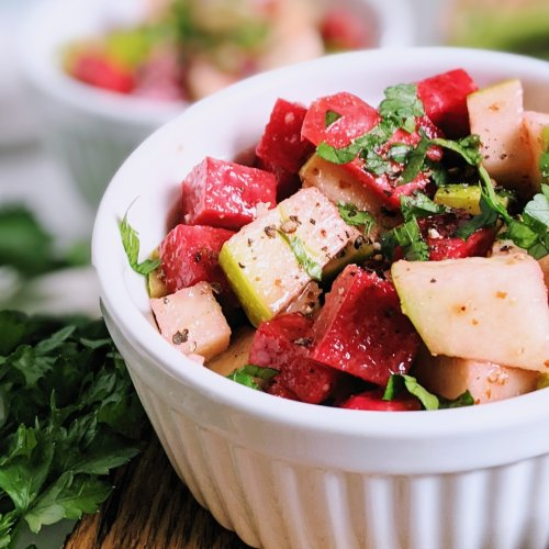 winter salad recipe with apples and beets healthy raw vegan salads hearty filling fiber with apple cider vinaigrette dressing easy low calorie homemade