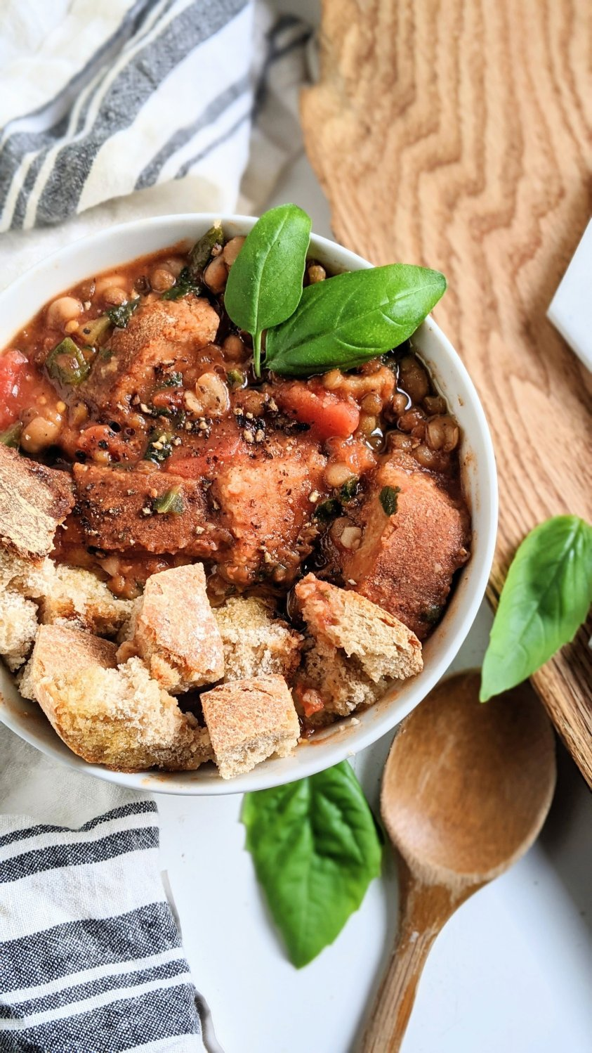 ways to use stale bread recipe gluten free vegan vegetarian cheap inexpensive recipes with old bread hard stale bread crust recipes repurpose into soup thicken soup with bread crusts