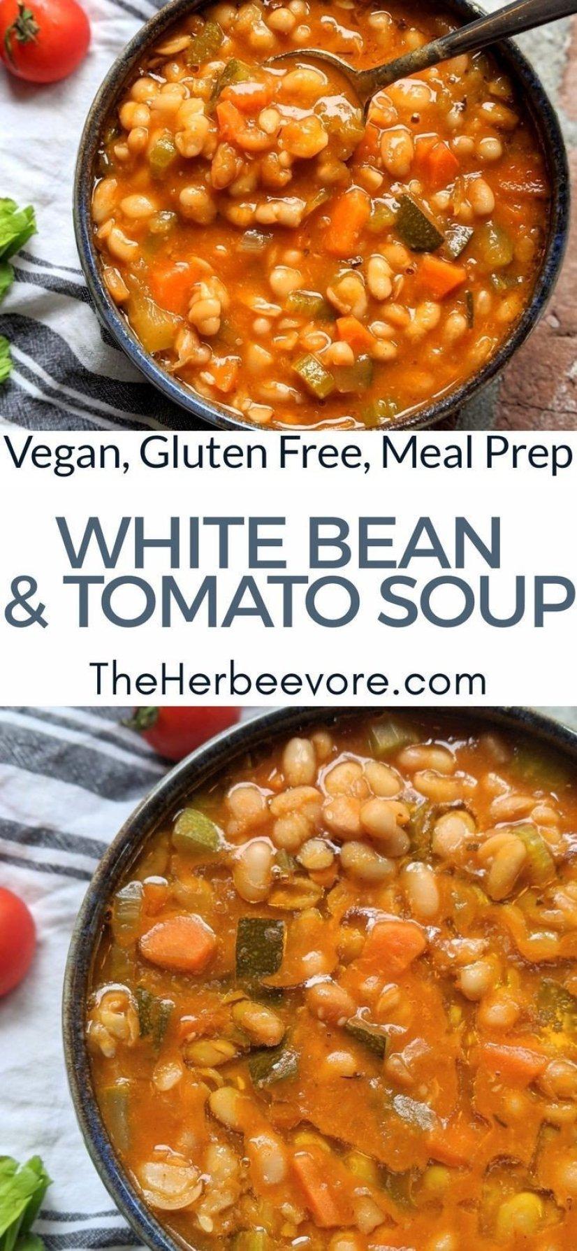 fasolatha fasolada greek white bean soup recipe meal prep vegan gluten free healthy recipes the whole family will love for fall or winter