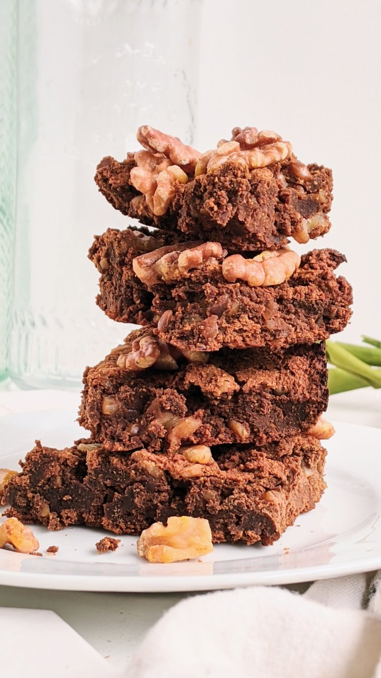 healthy pumpkin brownies healthy recipe vegan gluten free paleo whole30 grain free brownie recipe dessert treat for health