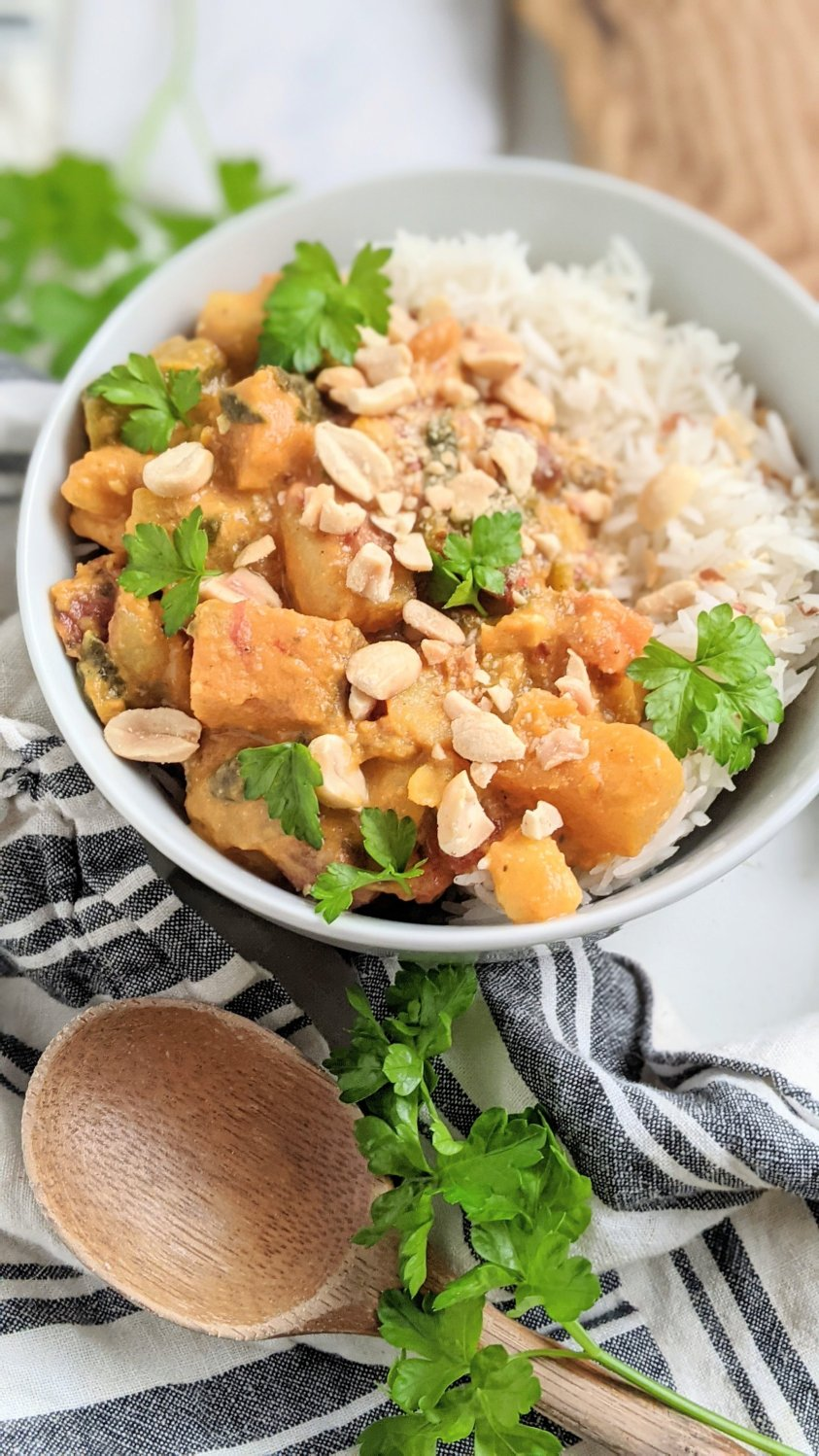 whole30 sweet potato curry recipe peanuts healthy homemade vegan vegetarian gluten free recipes with curry powder indian spices healthy peanut curry coconut milk