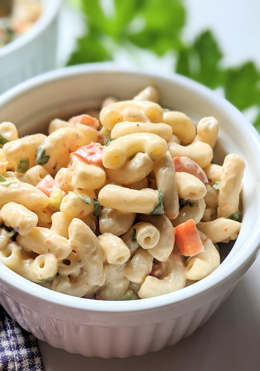 amish macaroni salad recipe no mayo pasta salad withour mayonnaise cooked dressing for macaroni salads and potato salads recipe vegetarian meatless gluten free