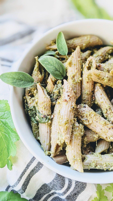 dairy free green goddess pesto recipe vegan gluten free walnut and sage pesto recipe herbs garden pestos