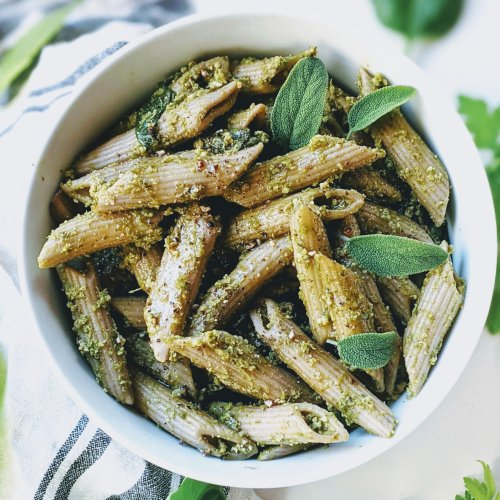 green goddess pesto recipe pasta with green goddess dressing healthy herb pesto with parsley basil sage garlic pesto healthy no cook pesto recipes
