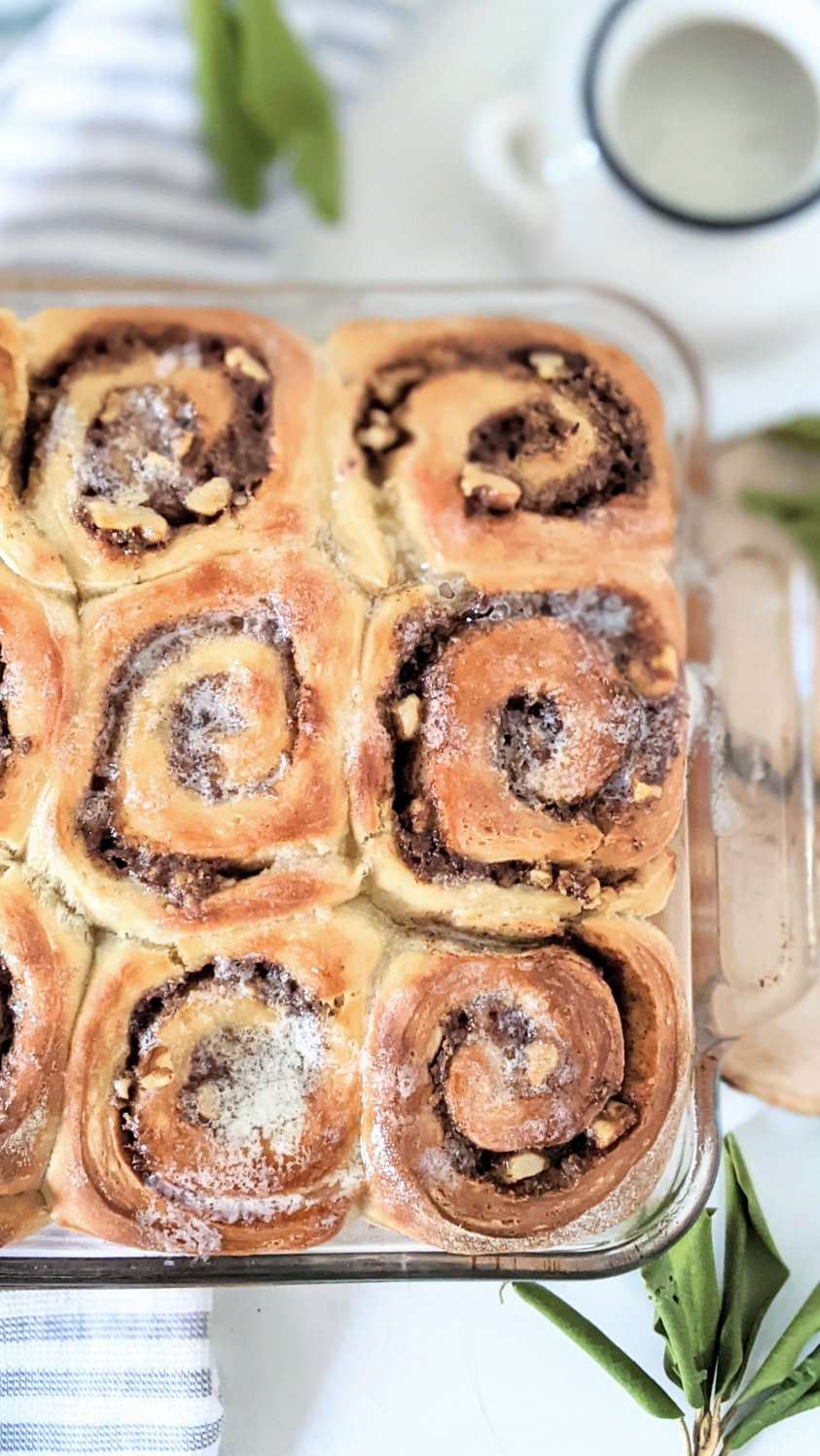 fluffy brioche cinnamon buns with sourdough starter discard recipes best brunch recipes for guests christmas morning breakfasts impress guests