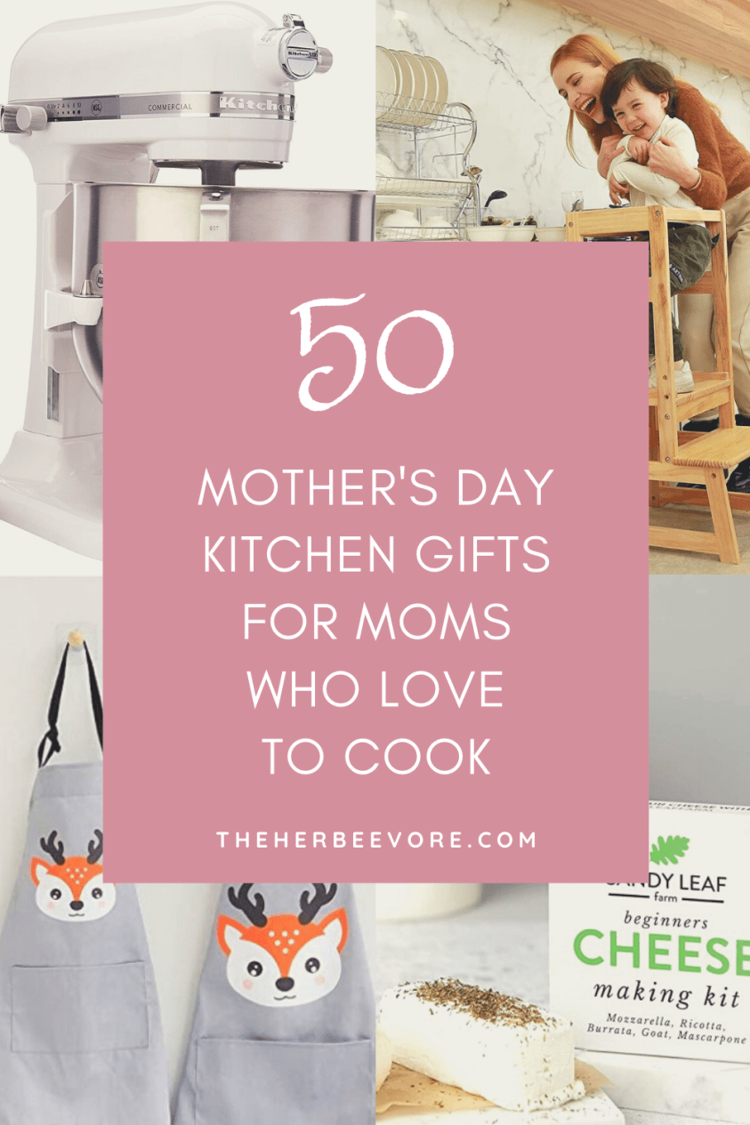mother's day kitchen gifts for moms who love to cook foodie mom gift ideas for bakers cooks grandma's mums and grannies nanas foodie mama gifts mommy cooking gift ideas